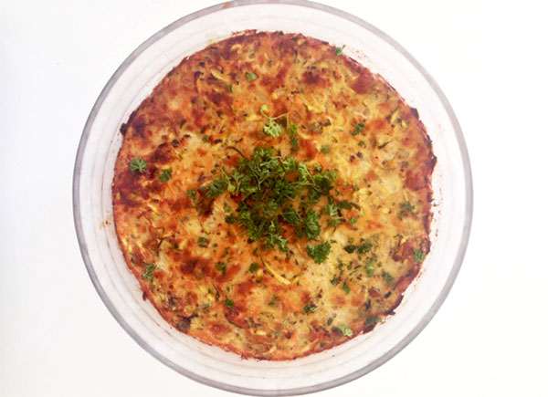Zucchini Pie With Relish