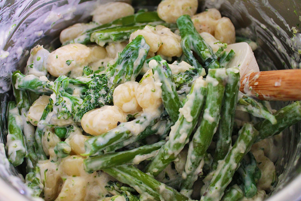 With Relish Green Veg Gnocchi