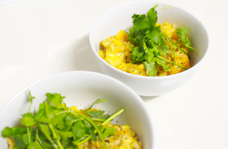 Butternut Risotto With Relish 3