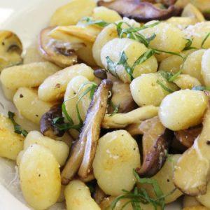 Exotic Mushroom Gnocchi